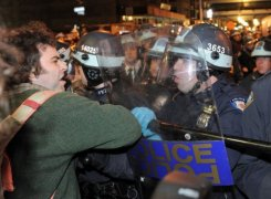 AFP – NYPD Occupy