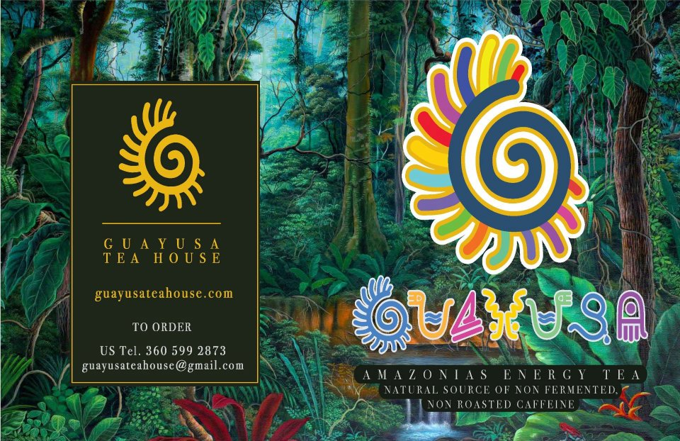 Guayusa Label